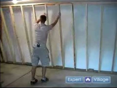 How To Frame Amp Insulate A New Wall How To Raise A Newly