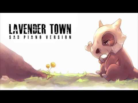 Pokémon - Lavender Town | Sad Piano Version