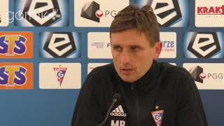 Górnik Zabrze 1-1 Arka Gdynia. Konferencja prasowa: Marcin Brosz (15-12-2018)