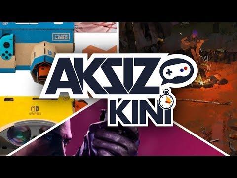 Aksiz Kini - Labo VR, Life is Strange 2, Hitman 2 thumbnail