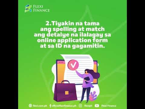 Flexi Finance Loan Application Tips