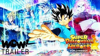 Super Dragon Ball Heroes- World Mission - Official Announcement Trailer