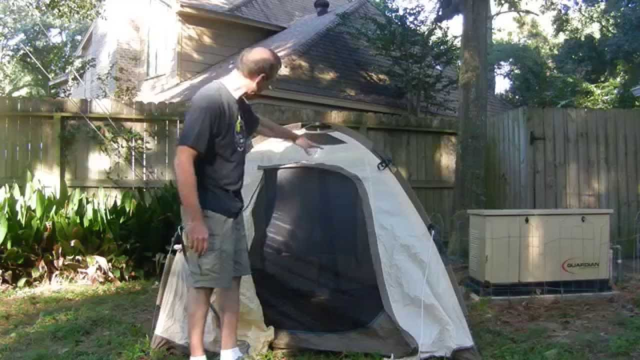 & My Favorite Motorcycle Camping Tent - YouTube