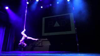 Artemis Anagnostou - Greek Pole Dance Championship 2014 Professional Division