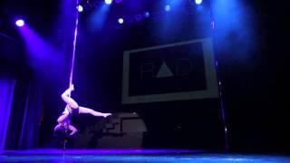 Artemis Anagnostou - Greek Pole Dance Championship 2014 Professional Division