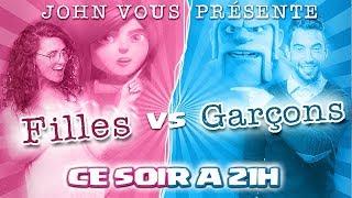 🔴 Guerre 50 FILLES VS 50 GARÇONS | ATTAQUE HDV 12 GDC | Clash of clans