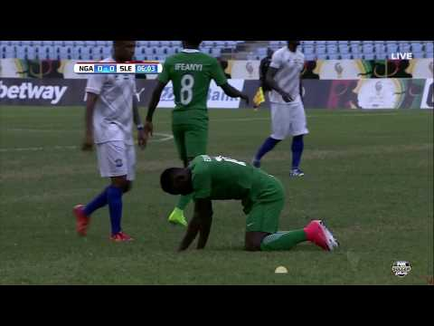 Nigeria vs. Sierra Leone (FIRST HALF)