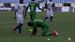 Nigeria vs. Sierra Leone [FIRST HALF] (2017 WAFU Cup Qualifier)