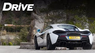 Test drive: McLaren 570S @ Rally Monte Carlo [English subs]