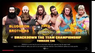NWO vs. The Rockers vs. Bludgeon Brothers - Smackdown Tag Team Championship