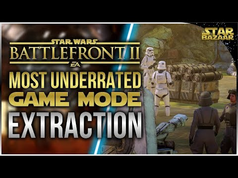 Most Underrated Game Mode In Battlefront 2 (Extraction 2 Games)   Battlefront 2 Gameplay