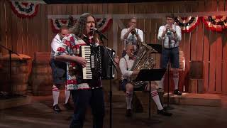 weird al yankovic   the north korea polka
