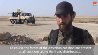 بالفيديو.. القوات الكردية تتقدم في الرقة بدعم بري وجوي أمريكي