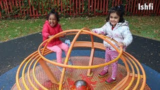 Ishfi Rufi went to the Park with Daddy | Kids Video