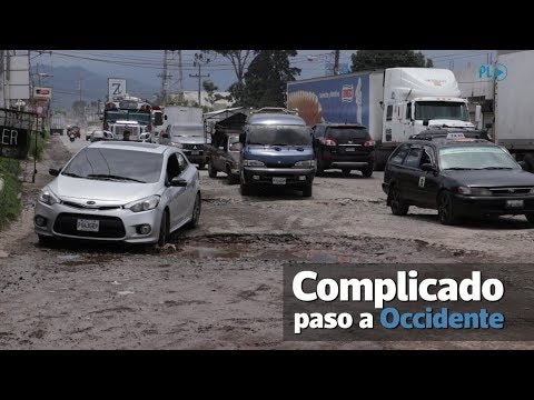 Daños en rutas complican el paso a Occidente | Prensa Libre