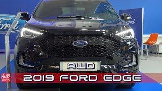2019 Ford Edge AWD - Exterior And Interior - 2019 Automobile Barcelona