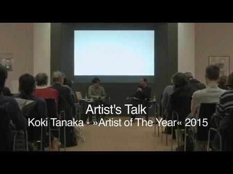 Artist's Talk - Koki Tanaka & Hou Hanru (26.03.2015 @ Deutsche Bank KunstHalle)