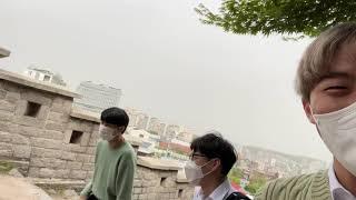 억텐 짜내기(미세먼지 최악 낙산공원)