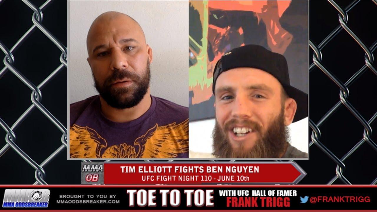 Frank Trigg Interviews UFC Fight Night 110's Tim Elliott