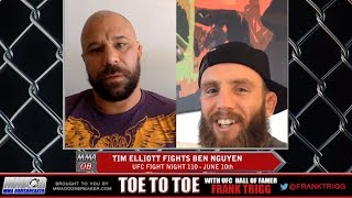 Frank Trigg Interviews UFC Fight Night 110's Tim Elliott