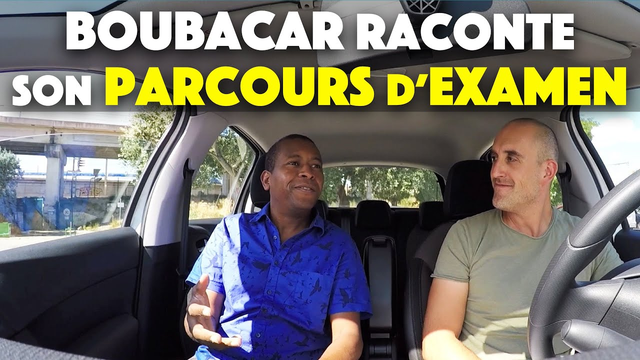 boubacar raconte son parcours d 39 examen du permis de conduire youtube. Black Bedroom Furniture Sets. Home Design Ideas