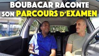 Boubacar raconte son parcours d'examen du permis de conduire