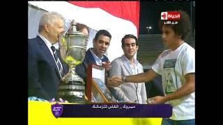 فيديو.. توزيع قائمة الأفضل بالدورى المنقضى على هامش مراسم الكأس