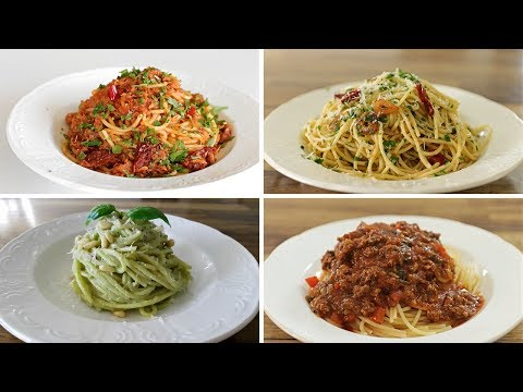 4 Easy Spaghetti Recipes