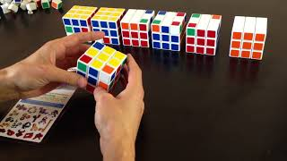 Как собрать кубик Рубика 3х3 - быстро и легко. Лучшая методика для начинающих.(Как собрать кубик Рубика 3х3 - быстро и легко. Лучшая методика для начинающих. Схемы и иллюстрации к сборке..., 2013-09-09T20:09:29.000Z)