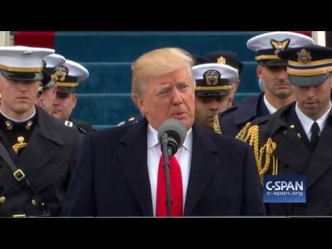 President Donald Trump Inaugural Address FULL SPEECH (C-SPAN)