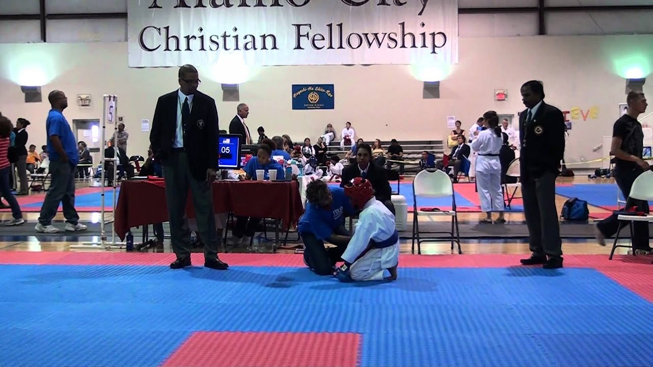 Daisuke Balderas At Texas State Karate Tournament 2012 San