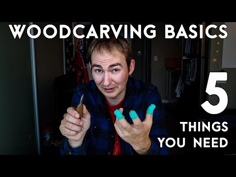 Want to Get Started as A Beginner Woodcarver? Here are 5 Basic Things you Need:
