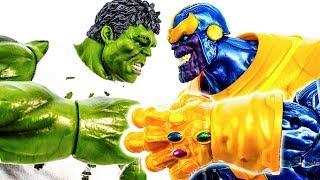 Халк Проти Таноса~! Залізна Людина і Веном з'явився на допомогу ! Карателі Йдуть~ #Toymarvel