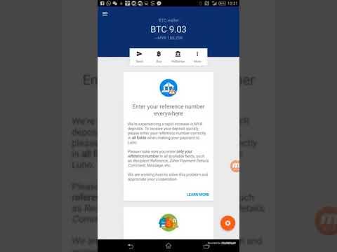 Cara Withdraw Bitcoin Anda Ke Ringgit  Melalui LUNO ( Saad +0196841651 )