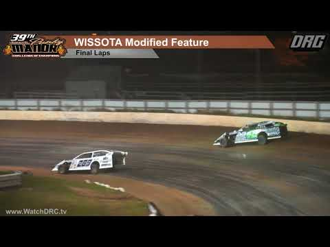 Red Cedar Speedway 9/22/18 WISSOTA Modified Feature Final Laps