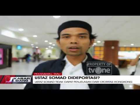 Penjelasan Ustadz Abdul Somad Soal Dipulangkan Paksa dari Hongkong