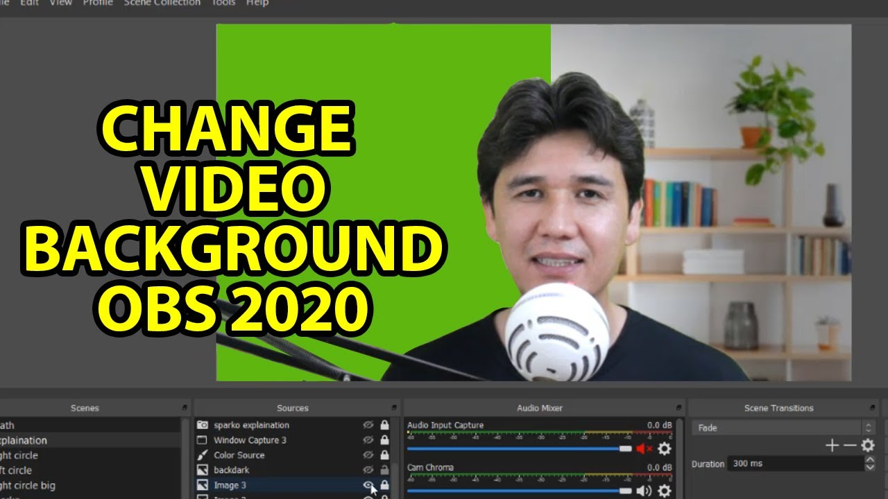 How To Put Background Image In Obs