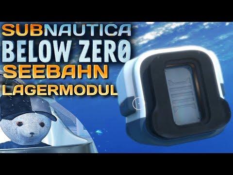Subnautica Below Zero SEEBAHN LAGERMODUL Deutsch German Gameplay #35