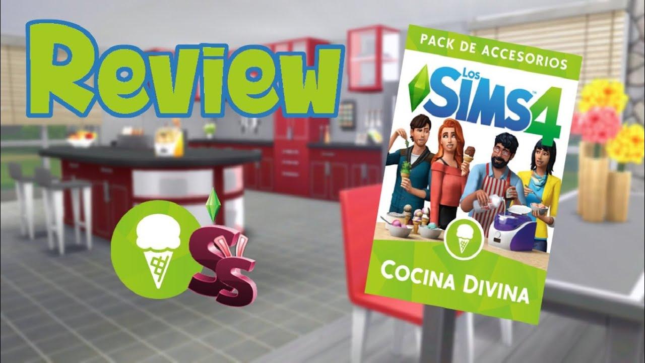 review los sims 4 cocina divina cas construccin objetos y helados pack de accesorios - Cocina Divina