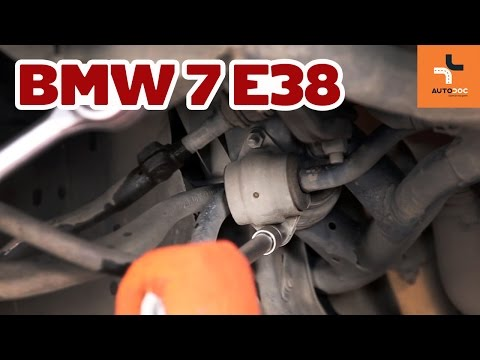 Wymiana tuleja stabilizatora przedniego BMW 7 E38 TUTORIAL | AUTODOC