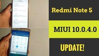 MIUI 10.0.4.0 Redmi Note 5 Latest Update   What's New In Redmi Note 5 MIUI Update   Tech Render  