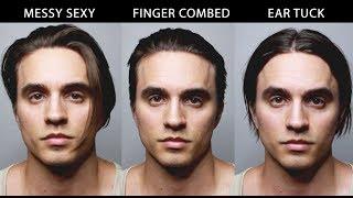 3 Easy Ways To Style Men's Medium/Long Hair (my 9 month update)