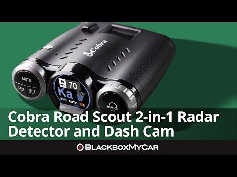 Cobra Road Scout 2-in-1 Radar Detector And Dash Cam   BlackboxMyCar