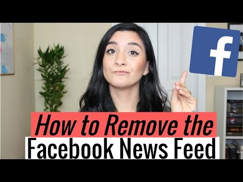 How to Remove the Facebook News Feed to Be More Productive