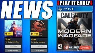 PS5 News - PS PLUS Games Bonus - FREE Games Update - DESTINY 2 FoTL 2019 (Gaming & Playstation News)