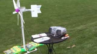 Mini wind turbine 4
