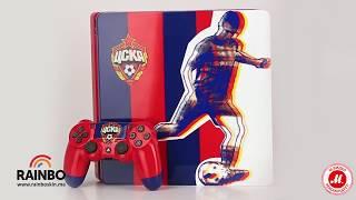 Игровая консоль PlayStation 4 «ЦСКА. Красно-синяя»