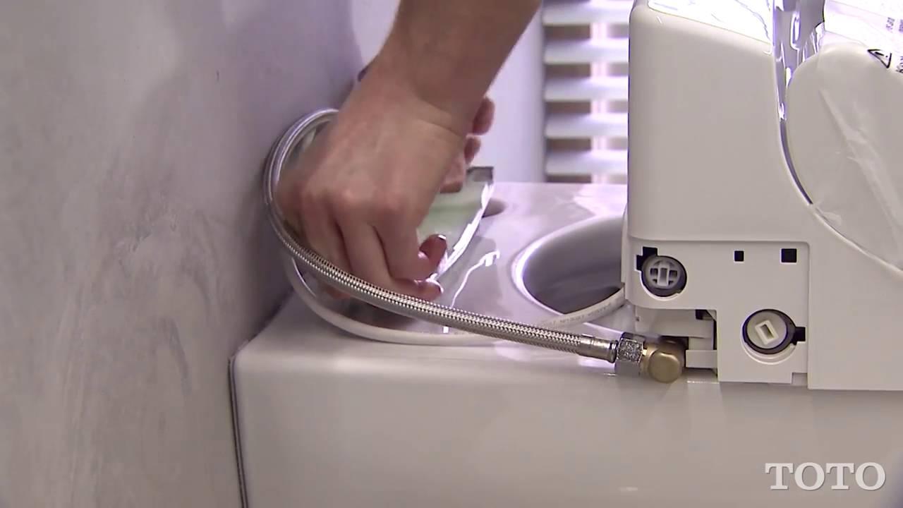 TOTO Montage/Installation Washlet GL 2 0 TCF6532C3GV1 - YouTube