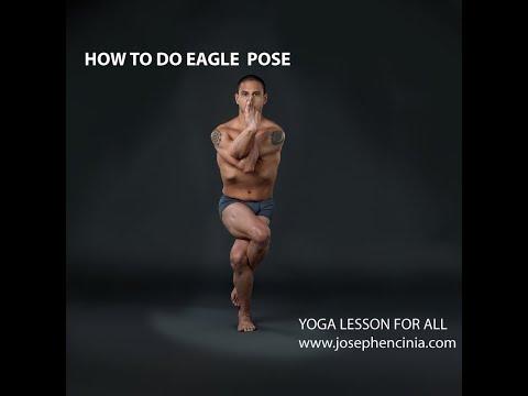 Yoga Lesson for all | How to do Eagle Pose | Garudasana | #sunlotusyoga