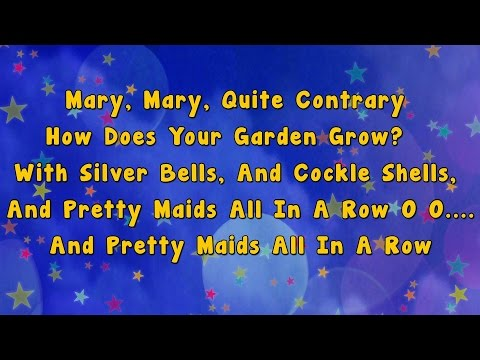 Mary Mary Quite Contrary | Karaoke Rhymes